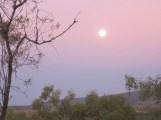 Moon rise at Mt Hart